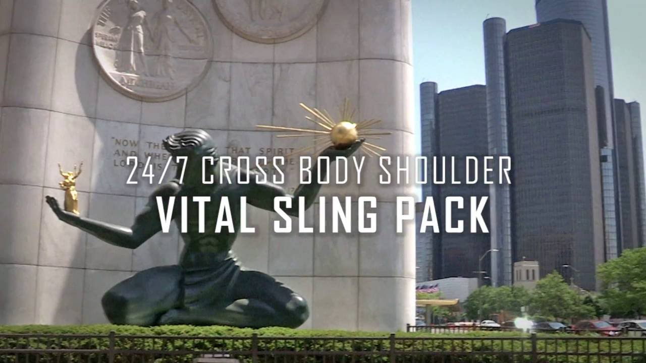 58a8eadfb1b Leapers UTG 24 7 Vital Sling Pack - YouTube