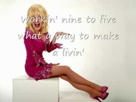 dolly parton 9 to 5 lyrics