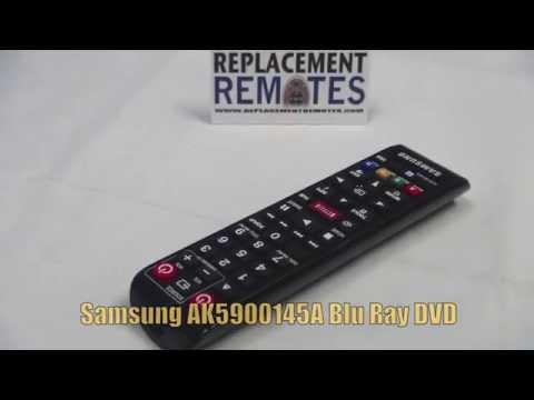 SAMSUNG AK5900145A Blu-Ray DVD Player Remote - Www.ReplacementRemotes.com