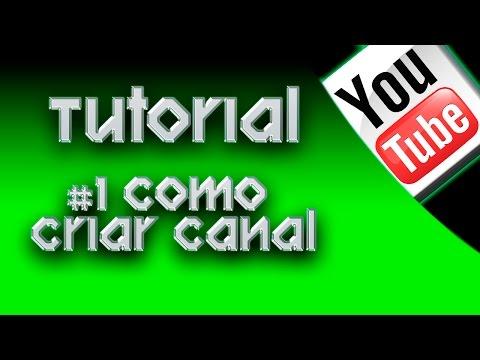#1 Como Criar Canal Youtube - Games (Portugues BR)