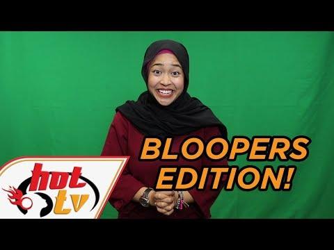 Korang ingat senang ke nak duduk depan camera!? #Bloopers