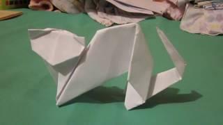 Клип кошка Оригами