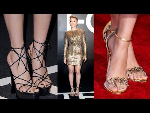 Scarlett Johansson piedi nudi feet barefoot