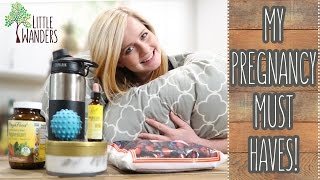 PREGNANCY MUST HAVES! | Little Wanders: Corbin & Kelsey