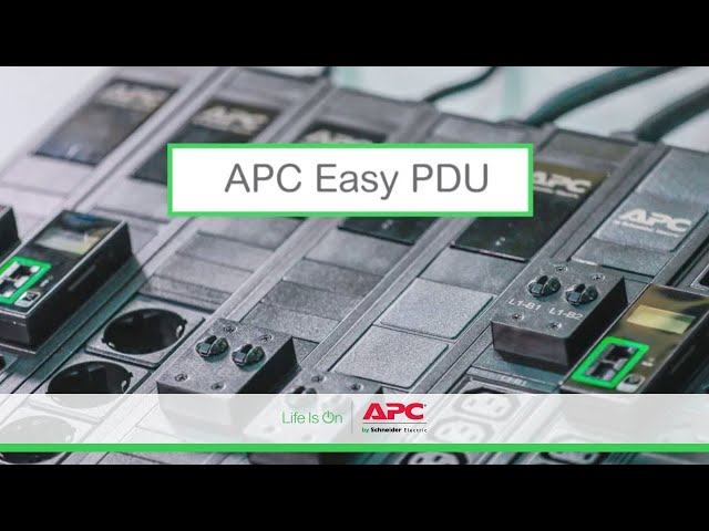 Introducing APC Easy Rack PDU Family