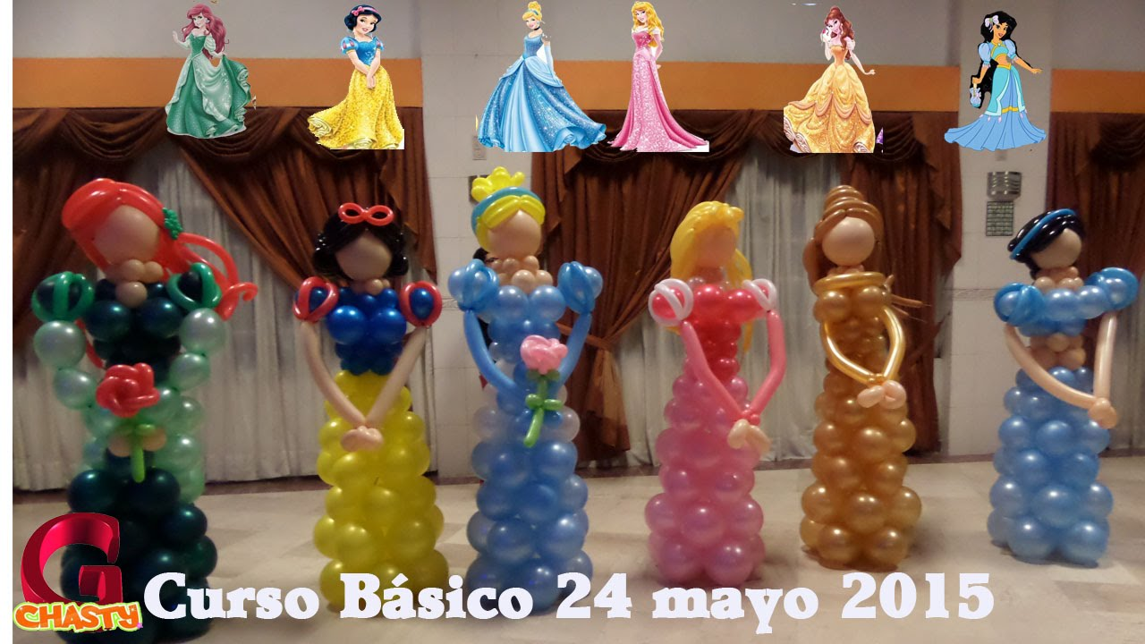 Curso 24 mayo globos chasty youtube for Decoracion 10 de mayo