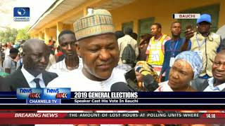 Speaker, Dogara Casts Vote In Bauchi thumbnail