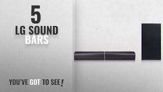 Top 5 LG Sound Bars [2018]: LG Electronics SJ7 Sound Bar Flex - Dual Speaker System with Wireless