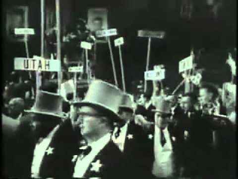 Eisenhower and Nixon Convention 1956 ElectionWallDotOrg.flv