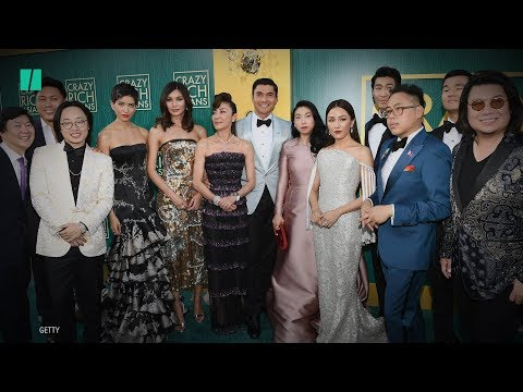 'Crazy Rich Asians' Cast Wears 'Crazy Rich' Fashion At Premi