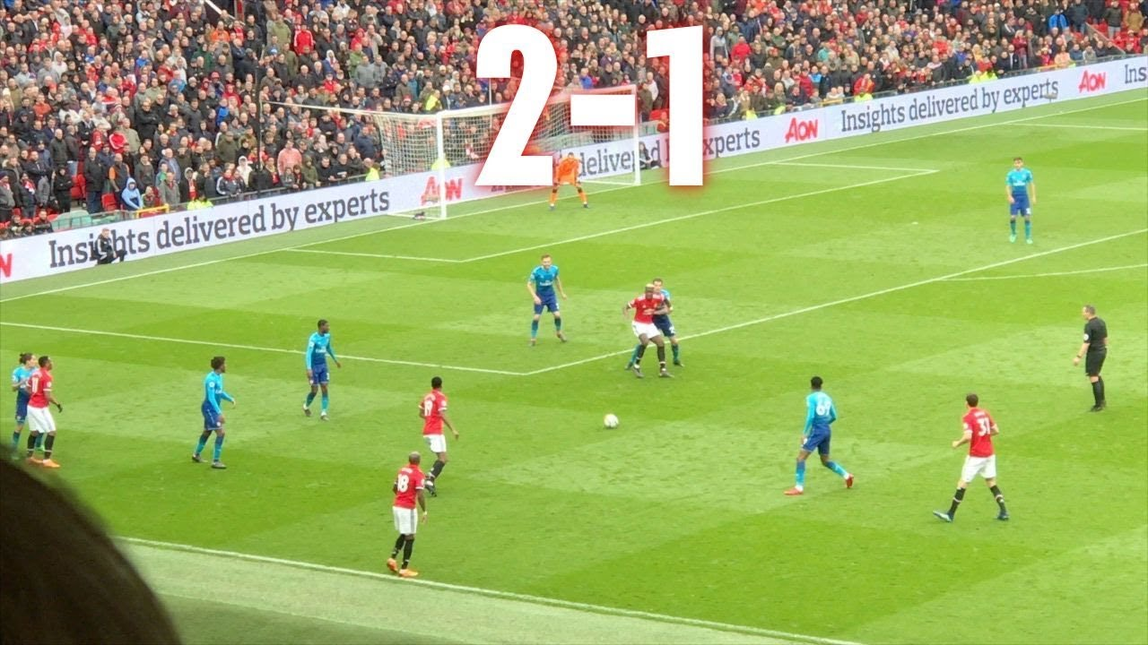 Download Manchester United v Arsenal, 2-1, Premier League, 29.04.18