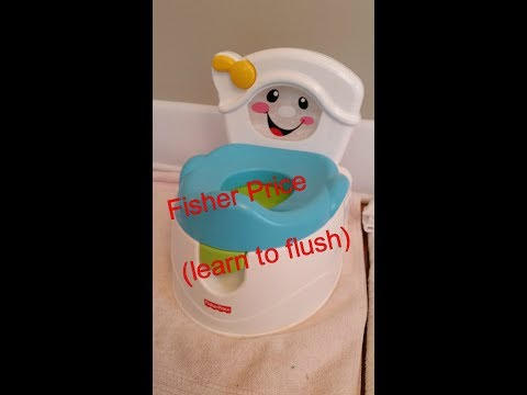 Fisher Price Learn To Flush Potty I Review & Tutorial