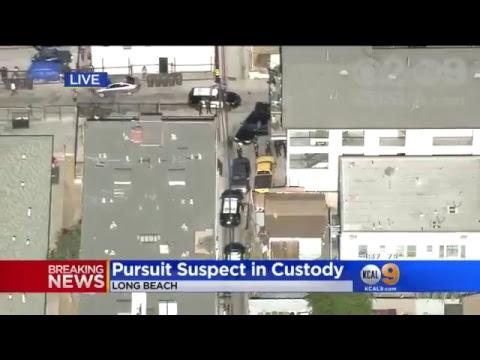 LIVE: Long Beach Police Pursuit