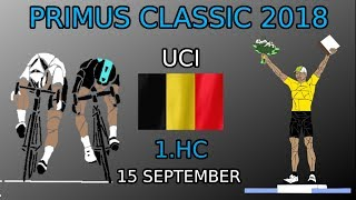 Primus Classic 2018 (15 September) - Race Route, Profiles, Preview