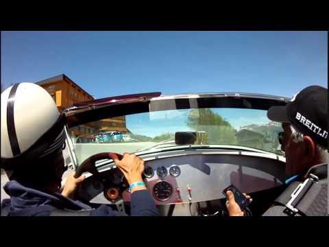 1ier rallye Megeve Saint Tropez en AC Cobra super-sport lightweight