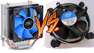 cooler Deep Cool Vs Cooler Stock!   Unboxing