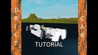 Roblox - Plane Crazy Tutorial (DRIFT CAR?)