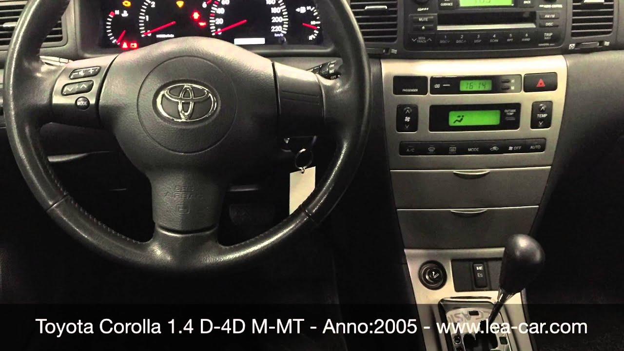 Toyota Corolla 14 D 4D M MT 5 Porte Sol NEOPATENTATI