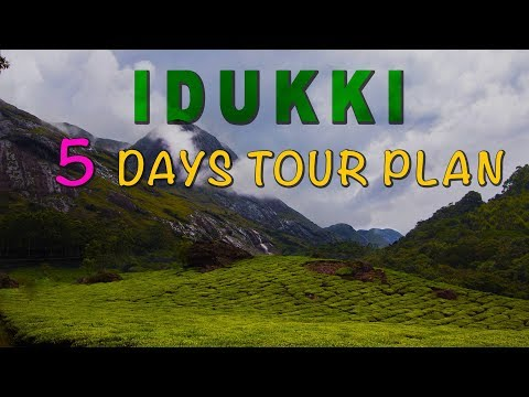 Kerala Tourism Video hd | Idukki District Kerala | Kerala Tour - 5 Days short tour plan