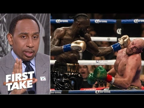 Tyson Fury was the superior boxer vs. Deontay Wilder- Stephen A. | First Take