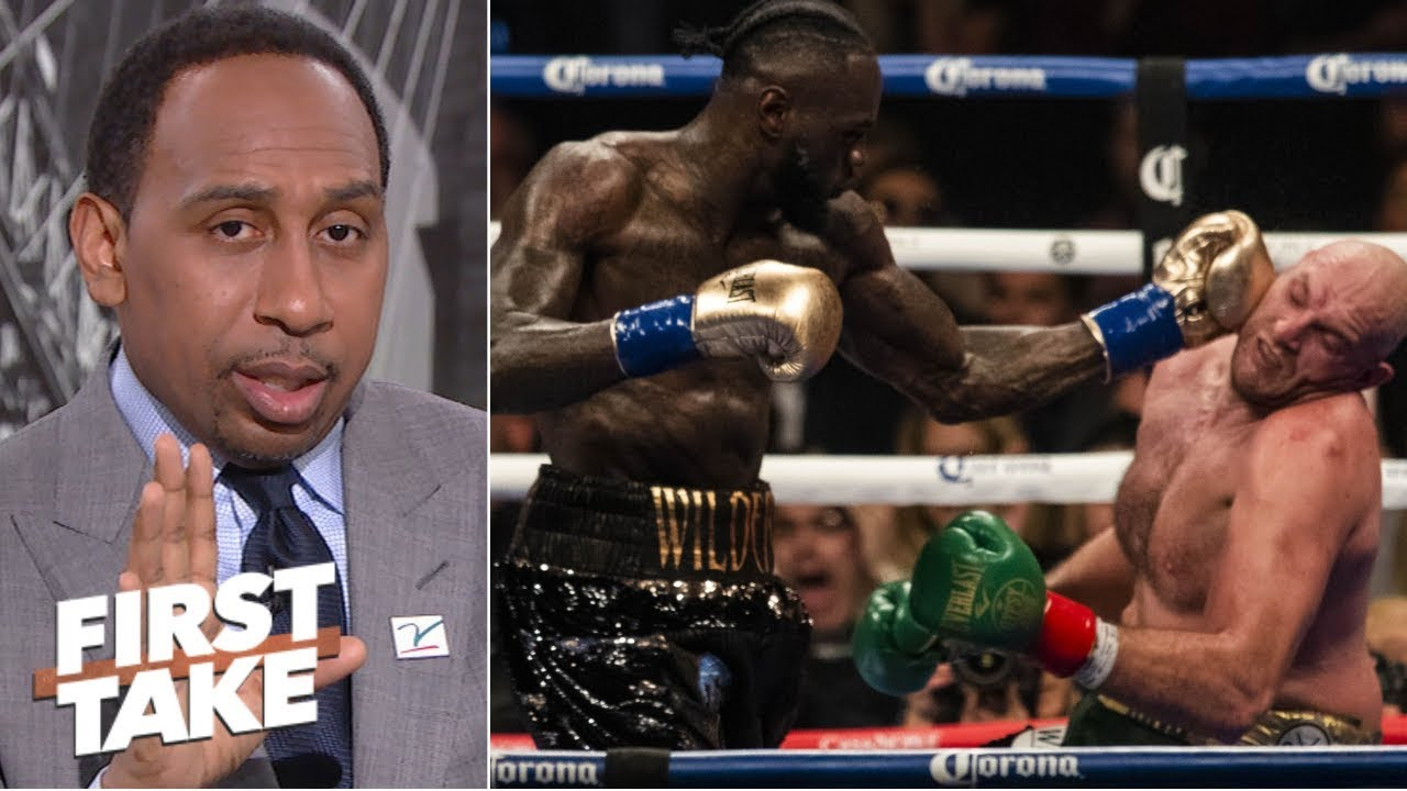 Download Tyson Fury was the superior boxer vs. Deontay Wilder- Stephen A. | First Take