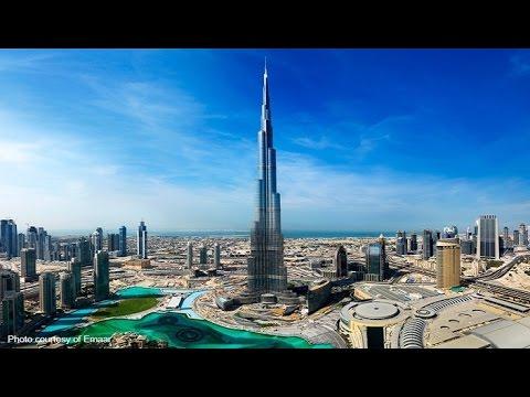 burj khalifa le plus haut b timent du monde youtube. Black Bedroom Furniture Sets. Home Design Ideas