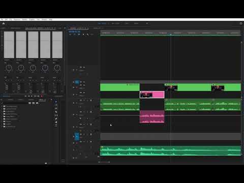 Adobe Premiere Pro 2021 - audio drop for no reason