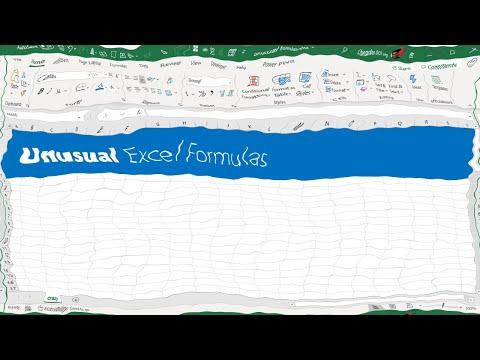 5 WEIRD & CRAZY  Excel formulas - FILTERXML, BASE, REPT and more...