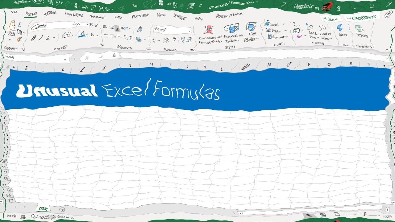 20 WEIRD & CRAZY Excel formulas   FILTERXML, BASE, REPT and more...
