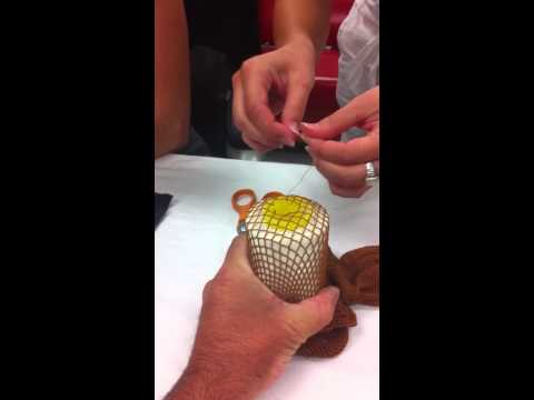 How To Mend Fishnets Part 1