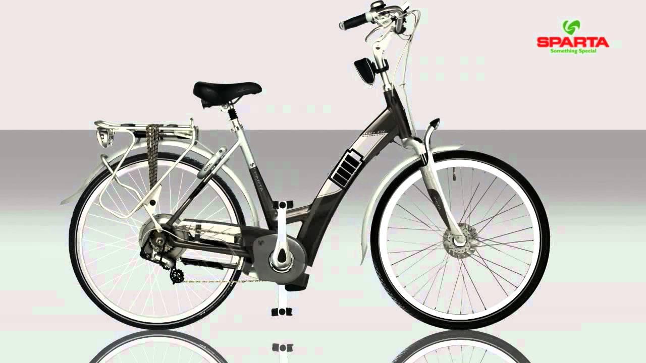 sparta ion de nr 1 elektrische fiets youtube
