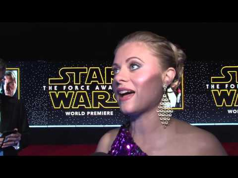 Star Wars: The Force Awakens: Bonnie Piesse Exclusive Red Carpet Premiere Interview