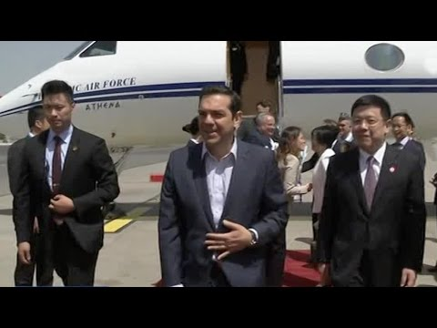 Greek PM Alexis Tsipras arrives in Beijing for Belt and Road Forum