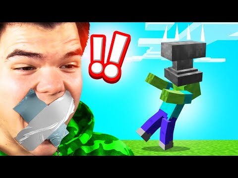Try NOT TO LAUGH In MINECRAFT! (Laugh = LOSE DIAMONDS)