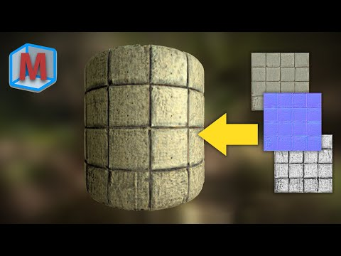 How To Create Free Materials For Games (Bounding Box Software - Materialize)