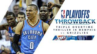 OKC \u0026 Memphis Duel in Triple Overtime Thriller | Full Classic Game - 5.9.11 - 2011 WCSF G4