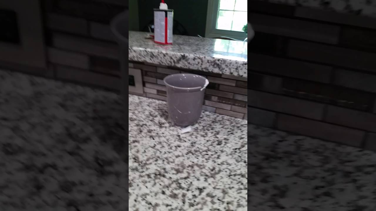 How To Remove A Super Glued Cup From The Counter