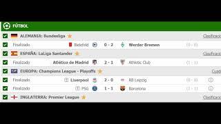 Pronosticos Deportivos Europa League 11 de Marzo