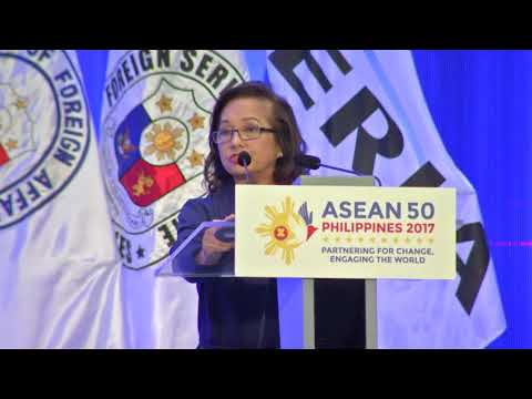 Remarks from Former President Gloria Macapagal-Arroyo - Part 1