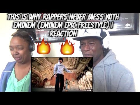 THIS IS WHY RAPPERS NEVER MESS WITH EMINEM (EMINEM EPIC FREESTYLE) | Reaction