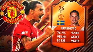 BRAND NEW MOTM IBRAHIMOVIC 94!! HIGHEST RATED PL PLAYER! FIFA 17 ULTIMATE TEAM