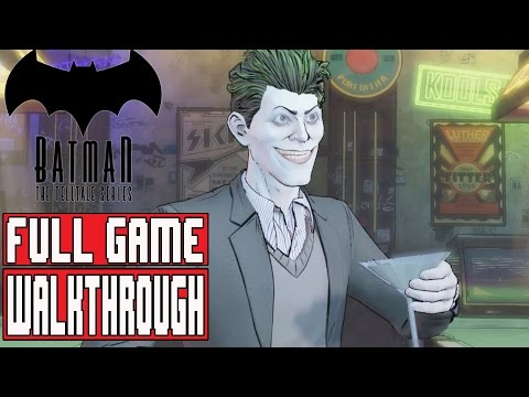 BATMAN TELLTALE EPISODE 5 Gameplay Walkthrough Part 1 FULL GAME (1080p) - No Commentary