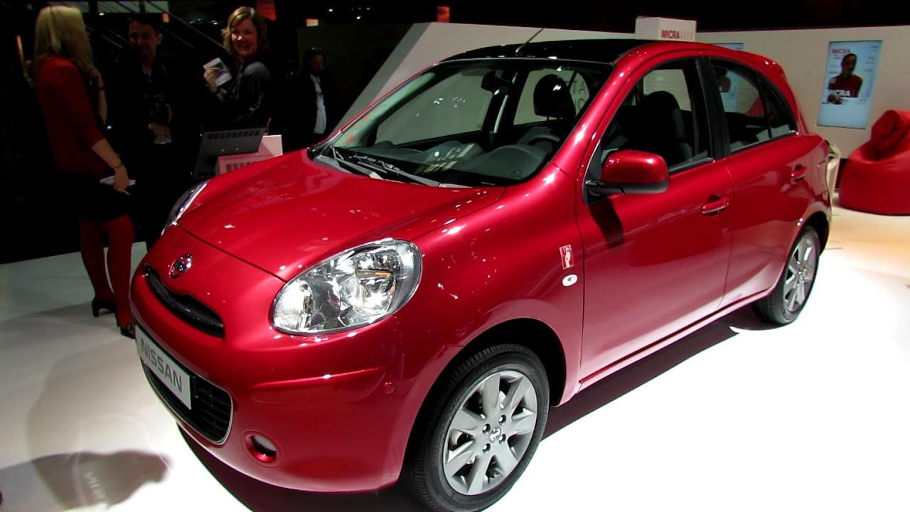 2013 nissan micra exterior and interior wakaround 2012 paris auto show youtube. Black Bedroom Furniture Sets. Home Design Ideas