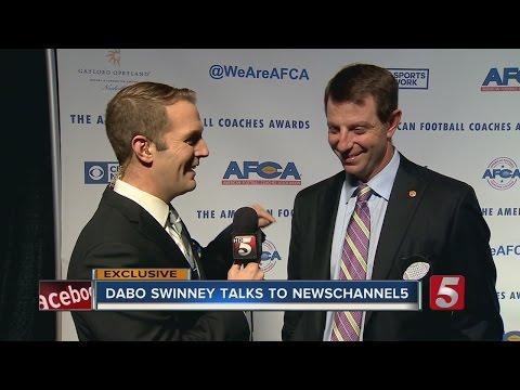 Exclusive: Dabo Swinney Talks To NewsChannel 5