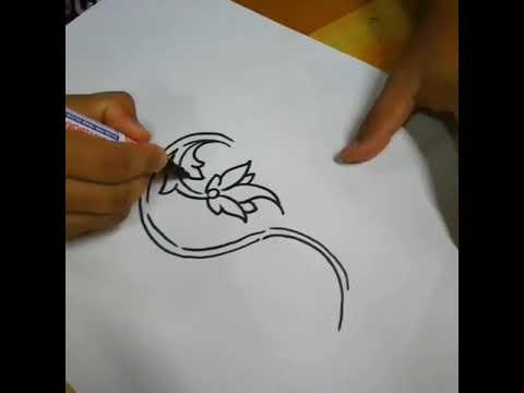 زخرفه نباتيه للفنان الماليزي حافظ حليم Youtube