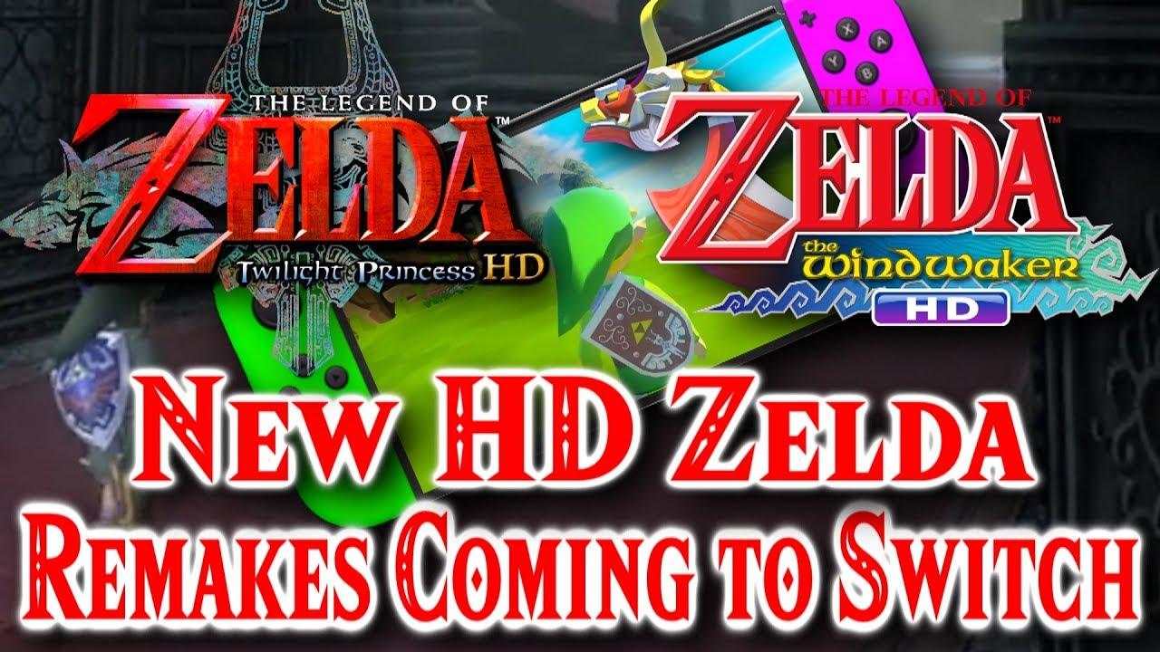 Rumor New Zelda Remakes Coming Twilight Princess Hd
