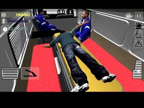 Играю симулятор скорой помощи 3D