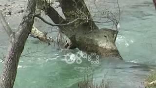Ora News - Mati gërryen ndërsa lumi Drojë përmbyt tokat në Kurbin