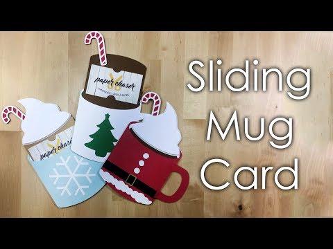 [Tutorial + Template] Christmas Hot Cocoa Mug Slider Card
