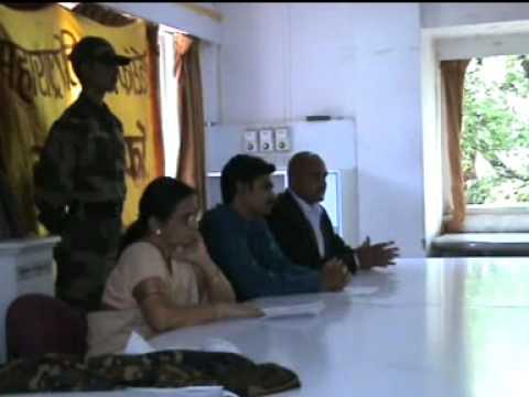 Maharashtra Military Foundation press conference